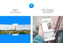 Facebook cho phép gửi ảnh 360* và ảnh HD qua Messenger