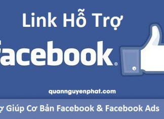 Tổng hợp các link hỗ trợ và kháng cáo Facebook hiệu quả