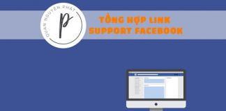 Tổng hợp các Link Support Facebook mới (mở khóa, báo cáo, đổi tên...)