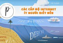Các cấp độ Internet - Những gì bạn thấy hàng ngày chỉ là bề nổi tảng băng chìm