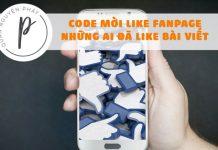 Share code tự động mời những người đã like bài viết like Fanpage