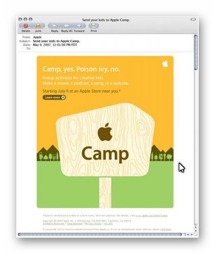 Vận dụng chiến lược Email marketing của Apple vào Messenger marketing