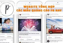 Chia sẻ trang web tổng hợp các mẫu quảng cáo Facebook hay