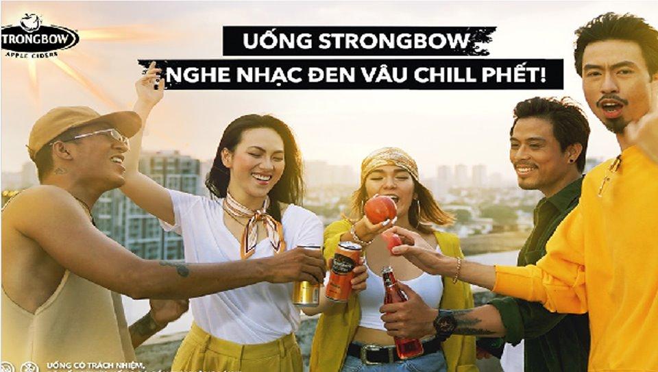 """Strongbow và chiến dịch """"Bài này Chill phết"""" cùng Đen Vâu"""