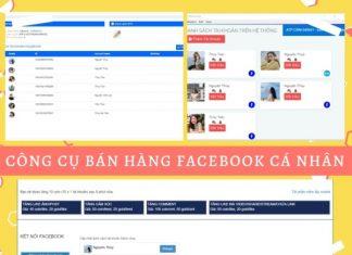 CÔng CỤ BÁn HÀng Facebook CÁ NhÂn