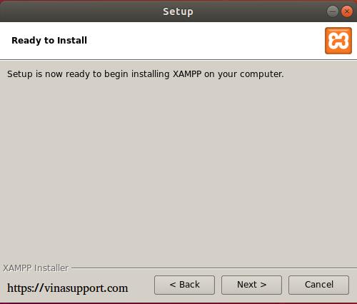 Thiết đặt Xampp trên Windows