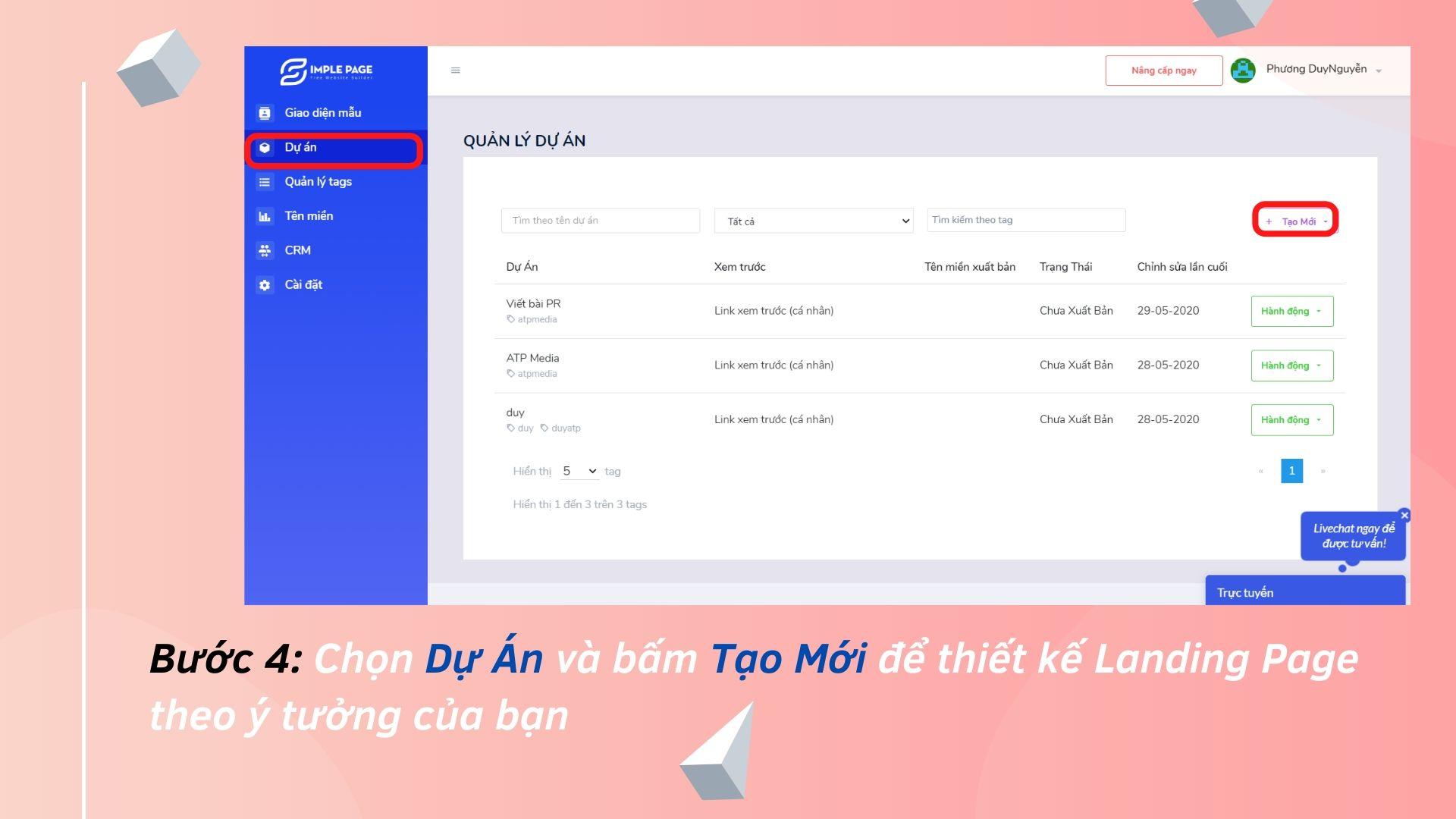 Landing Page cho Blogspot Free