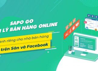 Review phần mềm quản lý bán hàng Online Sapo GO