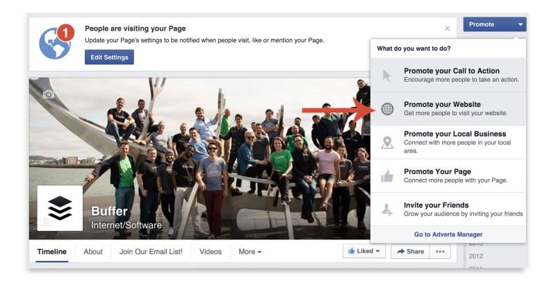 Tạo Facebook Carousel Ads từ trang của bạn