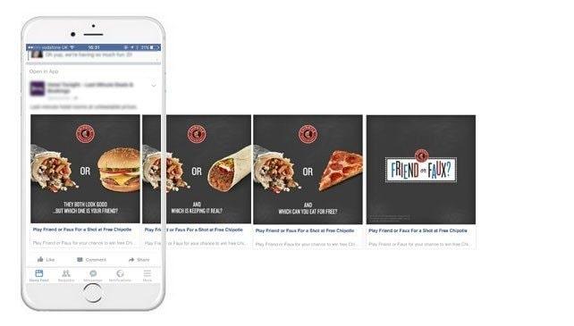 quảng cáo xoay vòng fb