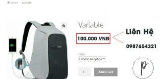 Tuỳ biến sản phẩm giá 0đ/hết hàng trong Woocommerce thành Liên hệ, số điện thoại